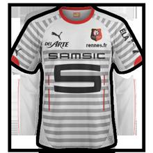 Rennes 2015 maillot extérieur 14 15