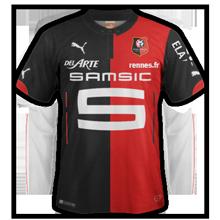 Rennes maillot domicile 2014 2015 officiel