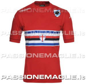 Sampdoria 2015 maillot third