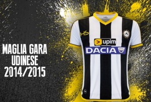 Udinese 2015 maillot domicile 2014 2015