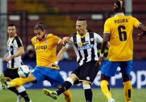 Udinese 2015 maillot domicile contre juventus