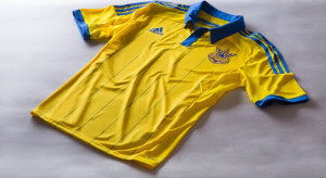 Ukraine 2014 maillot foot domicile Adidas