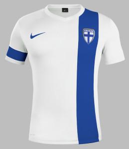 maillot Finlande 2014 domicile