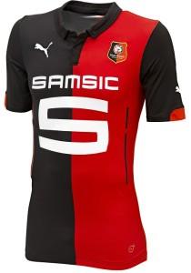 maillot domicile Rennes 2015