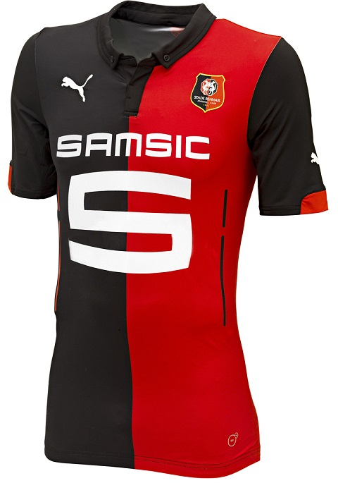 Rennes 2015 maillots de football maillots foot actu for Maillot rennes exterieur