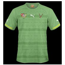 Togo maillot extérieur 2014 2015