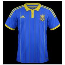 Ukraine 2014 maillot extérieur football