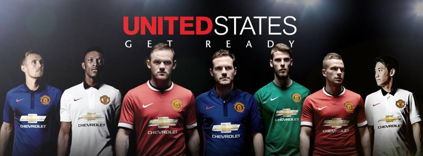 Les 3 maillots Manchester United 2015 officiels