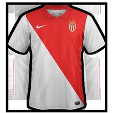 Maillot domicile ASM Monaco 2014 2015