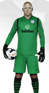 Aston Villa 2015 maillot gardien
