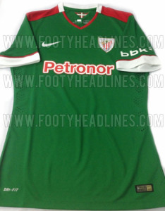 Athletic Bilbao 2015 maillot exterieur devoile
