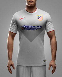 Atletico Madrid 2015 maillot exterieur foot 14-15