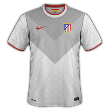 Atletico Madrid 2015 maillot exterieur