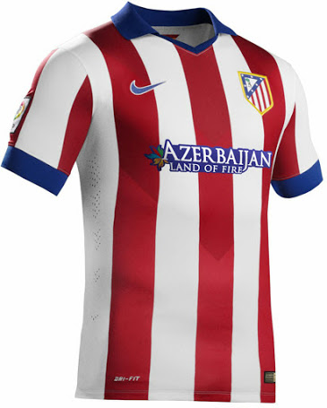 Atletico Madrid 2015 maillot foot domicile 2014/2015