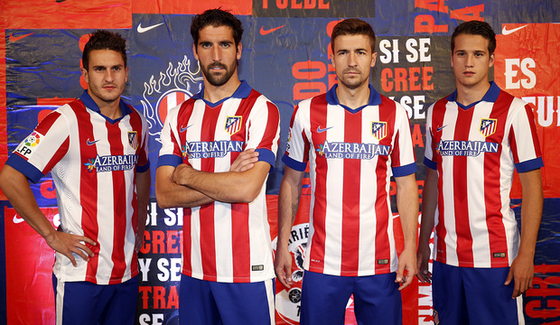 Atletico Madrid 2015 maillot foot domicile officiel