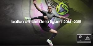 Ballon Adidas hiver Ligue 1 2014 2015 Lucas