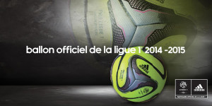 Ballon Adidas hiver Ligue 1 2014-2015 officiel