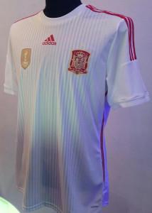 Espagne 2014 troisieme maillot foot third coupe du monde 2014
