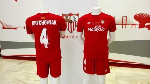 FC Seville 2015 maillot finale Ligue Europa