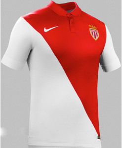 AS Monaco maillot domicile 2014 2015
