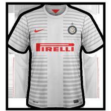 Inter Milan 2015 maillot exterieur
