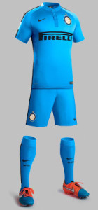 Inter Milan 2015 tenue foot third football short chaussettes