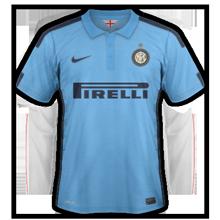 Inter Milan 2015 troisieme maillot third football