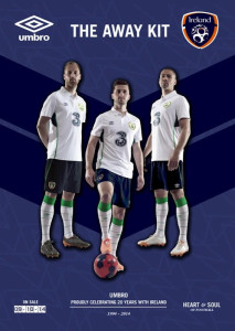Irlande 2014 2015 maillot foot exterieur