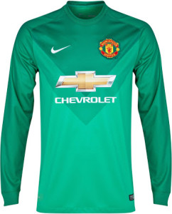 Manchester United 14-15 maillot gardien domicile