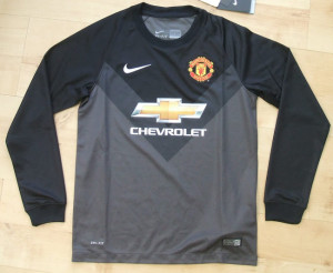 Manchester United 14-15 maillot gardien exterieur