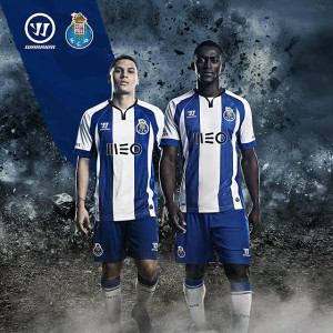 Porto 2015 maillot domicile Warrior 2014 2015 officiel