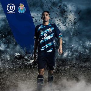 Porto 2015 maillot exterieur Officiel Warrior