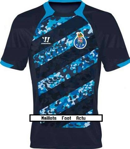 Porto 2015 maillot foot exterieur 2014 2015