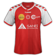 Reims 2015 maillot domicile football