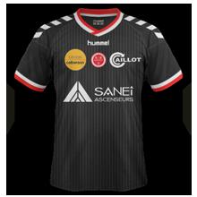 Reims 2015 maillot extérieur football