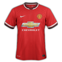 Manchester United maillot foot domicile 2014 2015