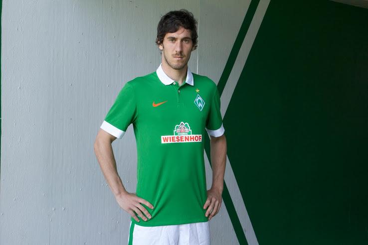 Werder Breme 2015 maillot domicile