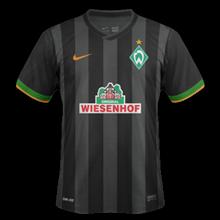 Werder Breme maillot foot extérieur 2015
