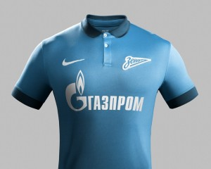 Zenit 2015 maillot football domicile
