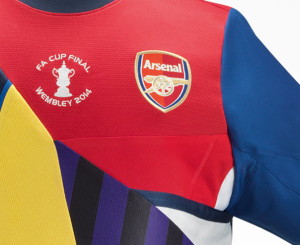 20 ans Arsenal maillot collector Nike football haut