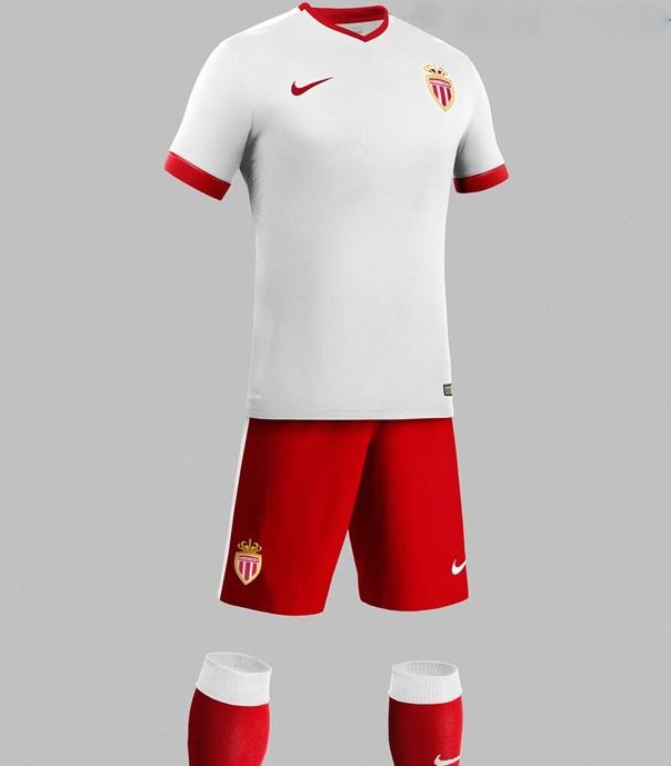 monaco maillot football maillots foot actu. Black Bedroom Furniture Sets. Home Design Ideas