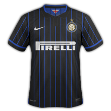 maillot Inter Milan 2015 domicile football 2014 2015