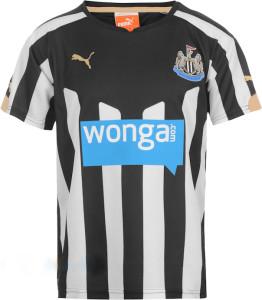 Newcastle maillot domicile 2015