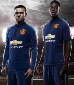 Troisième maillot third manchester united 2015