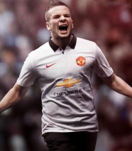 Manchester United maillot extérieur 2014 2015