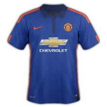 Manchester United 2015 maillot third officiel