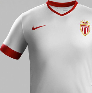 Maillot thrid AS Monaco 2015 gros plan