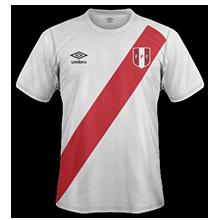 maillot domicile Perou 2014 2016