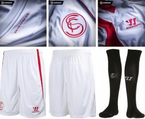 tenue FC Seville 2015 short chaussettes domimcile