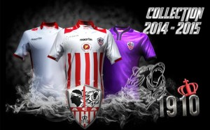 AC Ajaccio 2015 maillots de foot officiels